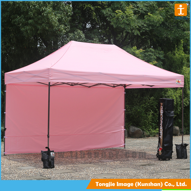 3*3m outdoor folding canopy tent with custom print