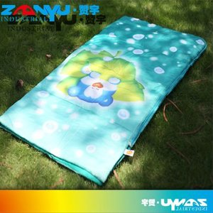 low price high quality colorful indoor children sleeping bag