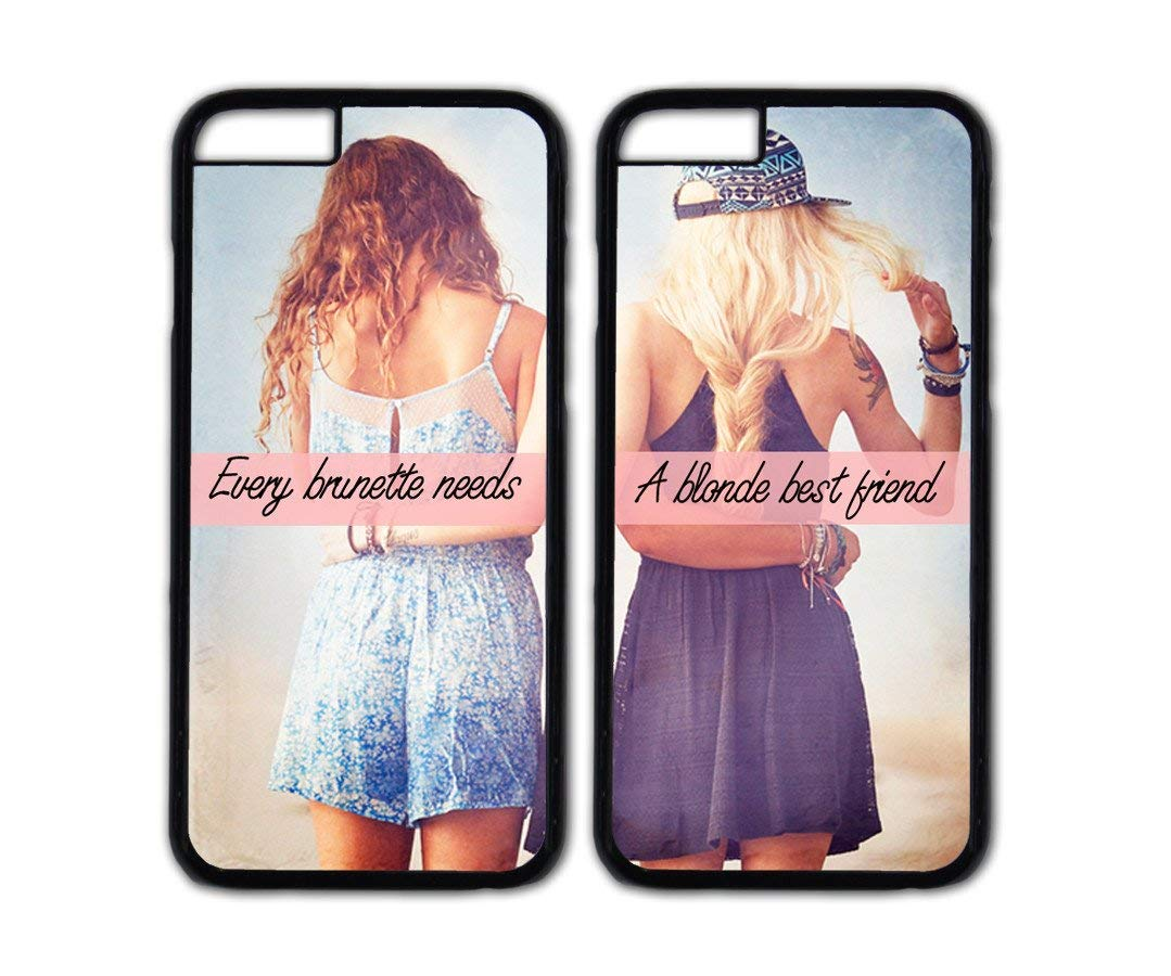 release date 42ae4 12b8a Buy Best Friends Forever Couple Case,Every Brunette Needs A Blonde ...