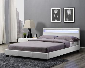 Sleeping Bed Design Modern Platform Bed With Led Light