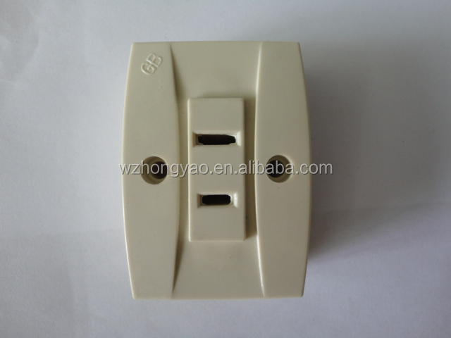 GB&F503 ELECTRIC SOCKET FOR HOME IVROY