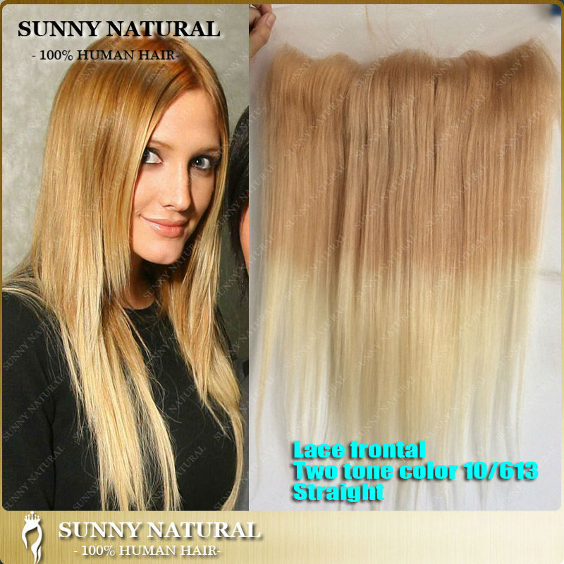 Ombre 10/613 Blonde Ear To Ear Lace Frontal Human Hair Lace ...