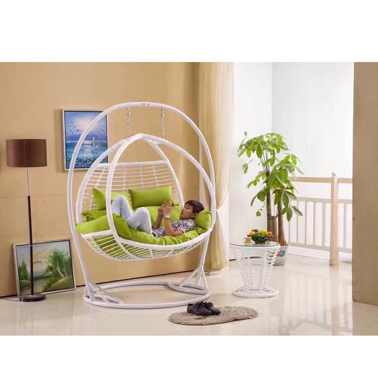 Jhoola In Living Room Hangstoel Hanging Chair With Stand 2 Seater