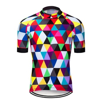Quick Dry Summer Cycling Jersey Customized Breathable Bicycle Wear