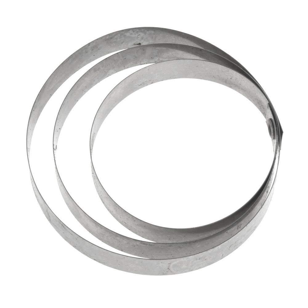 Expressly HUBERT Round Stainless Steel Bone Dust Scraper Refill