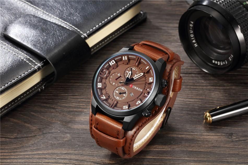 Элитные мужские часы Curren 8225 в Алексине