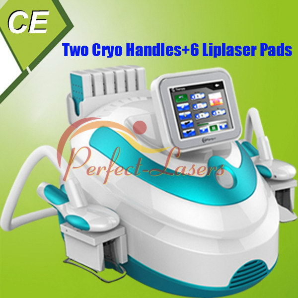 Hot Sale CE Approved Double Vacuum Liposuction Cryo Handles Fat Freezing Slimming Machine