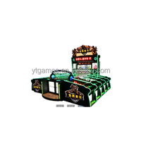 Nationwide horse racing 10 players competitive carnival booth coin operated game machine for sale