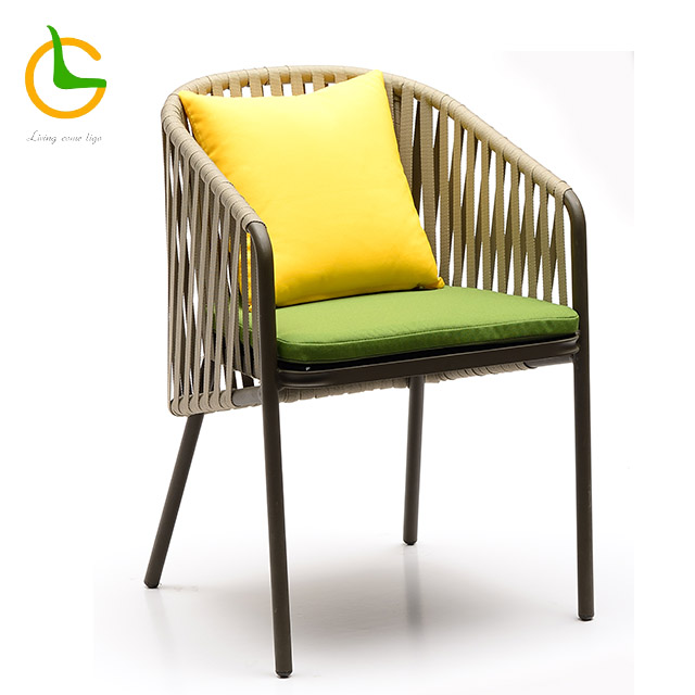 waterproof uv resistant rope weave garden bali romantic chair cheap wholesale furniture RW06-3501/6
