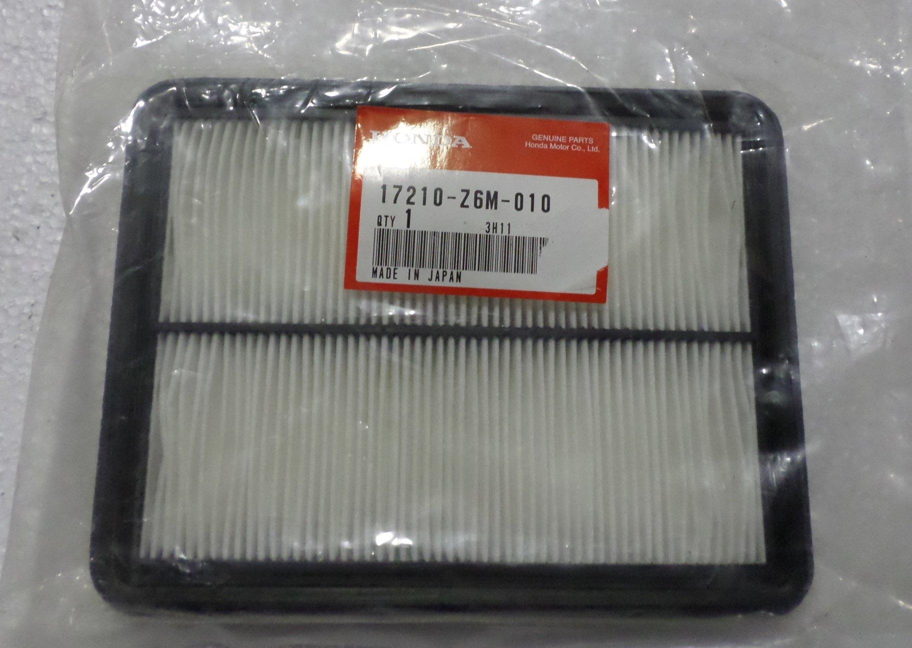 Honda 17210-Z6M-010 Element, Air Cleaner; 17210Z6M010 Made by Honda