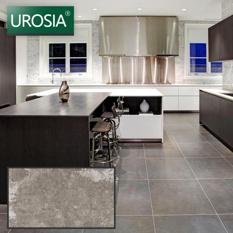 living room showcas design high grade hotel use dark grey villa glazed porcelain floor tile