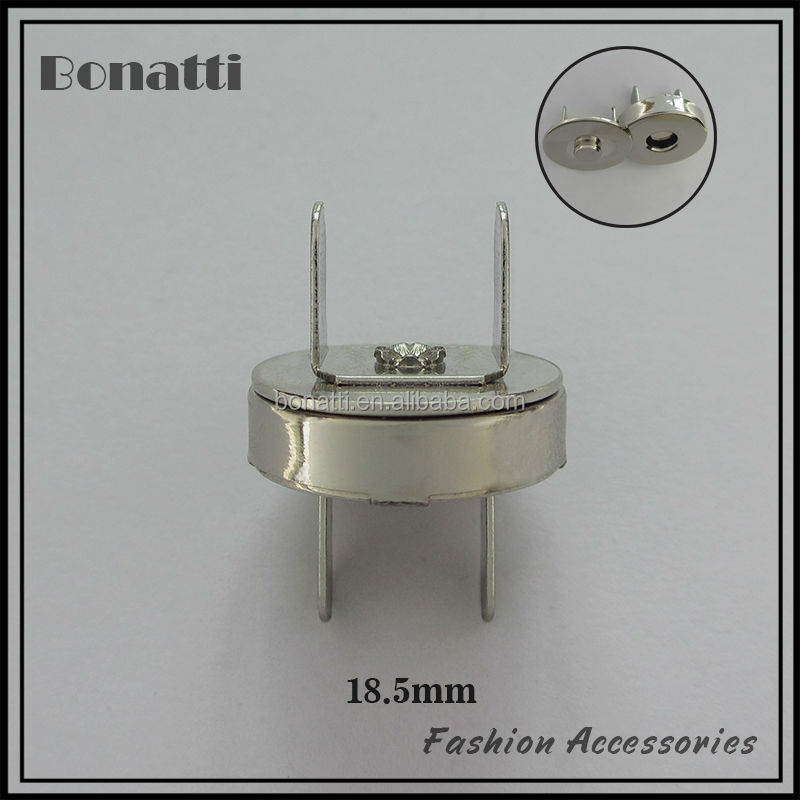 high quality stainless steel magnetic button