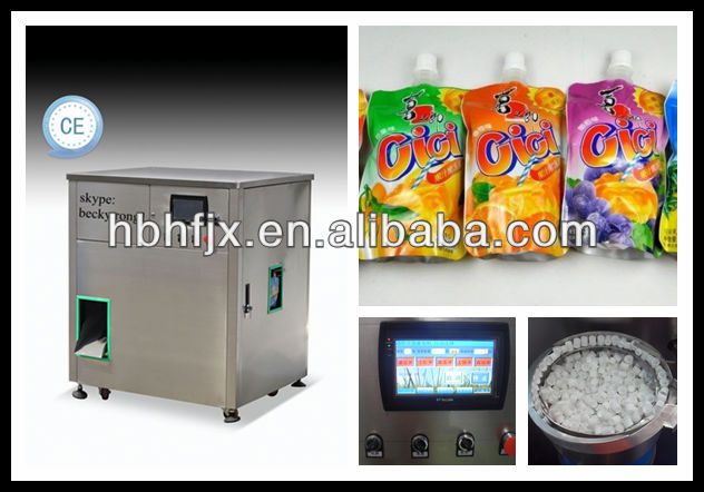 vitamin water and coconut milk doypack or standing up with spout satchet/pouch/bag packaging machine