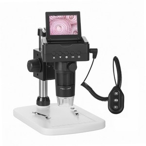 2017 Newest HDMI 1080P TV USB 25-200X portable Digital Microscope with LCD Screen