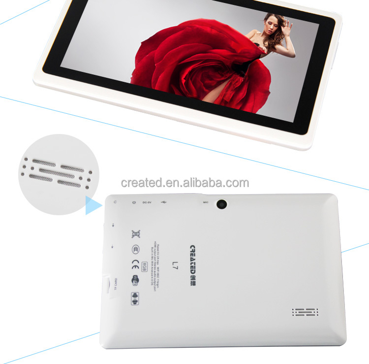 wholesale colorful allwinner a33 android 4.4 super smart 7 inch tablet pc android wifi Q88