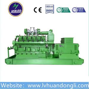 AC Three Phase Output Type jenbacher gas generator