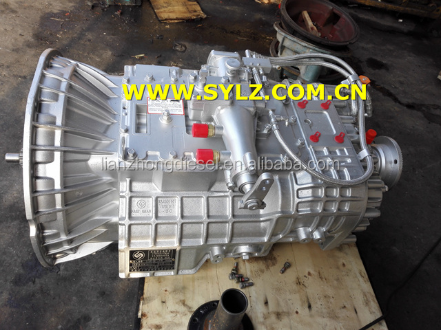 FAST GEARBOX 1700010-T38A0 12JSD200TA 12-grade 200-torque with synchronizer gearboxes assembly for Dongfeng auto accessories