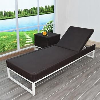 Commercial Outdoor Furniture Modern Garden Beach Aluminium Frame Sun Lounge Chair & Commercial Outdoor Furniture Modern Garden Beach Aluminium Frame Sun ...