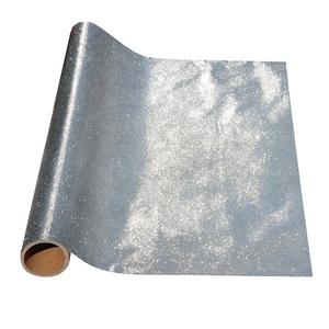 Decorative film silver adhesive car wrap material TPU glitter vinyl