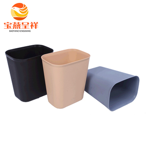 8L 15L little size household durable antiflaming plastic litter box with fashional appearance