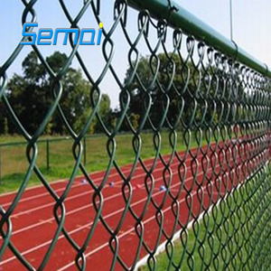 Chain link fence for baseball fields/decorative color chain link fence/twisted chan link