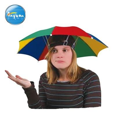 Paraguas con cabeza de calavera