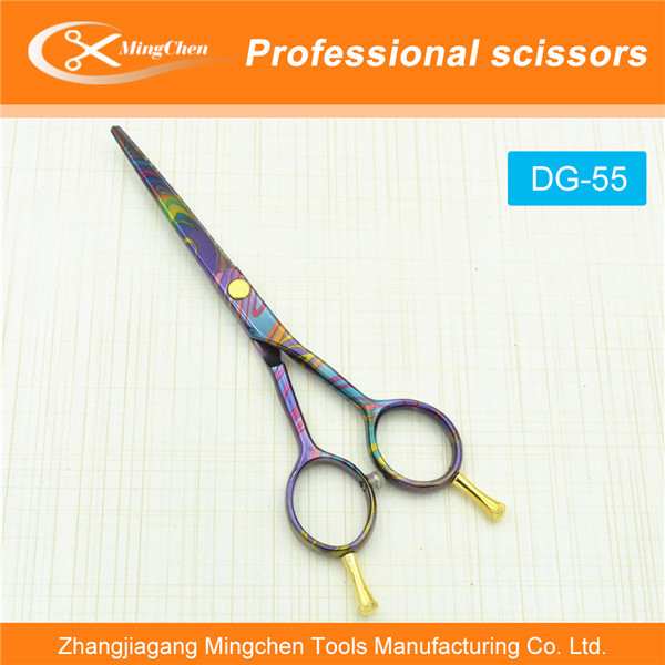 DG-55 ,german hair cutting scissors,barber scissors pouch