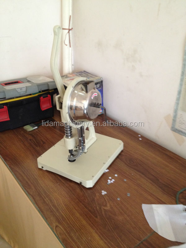 Manual Tarpaulin eyelet Hole Punching machine