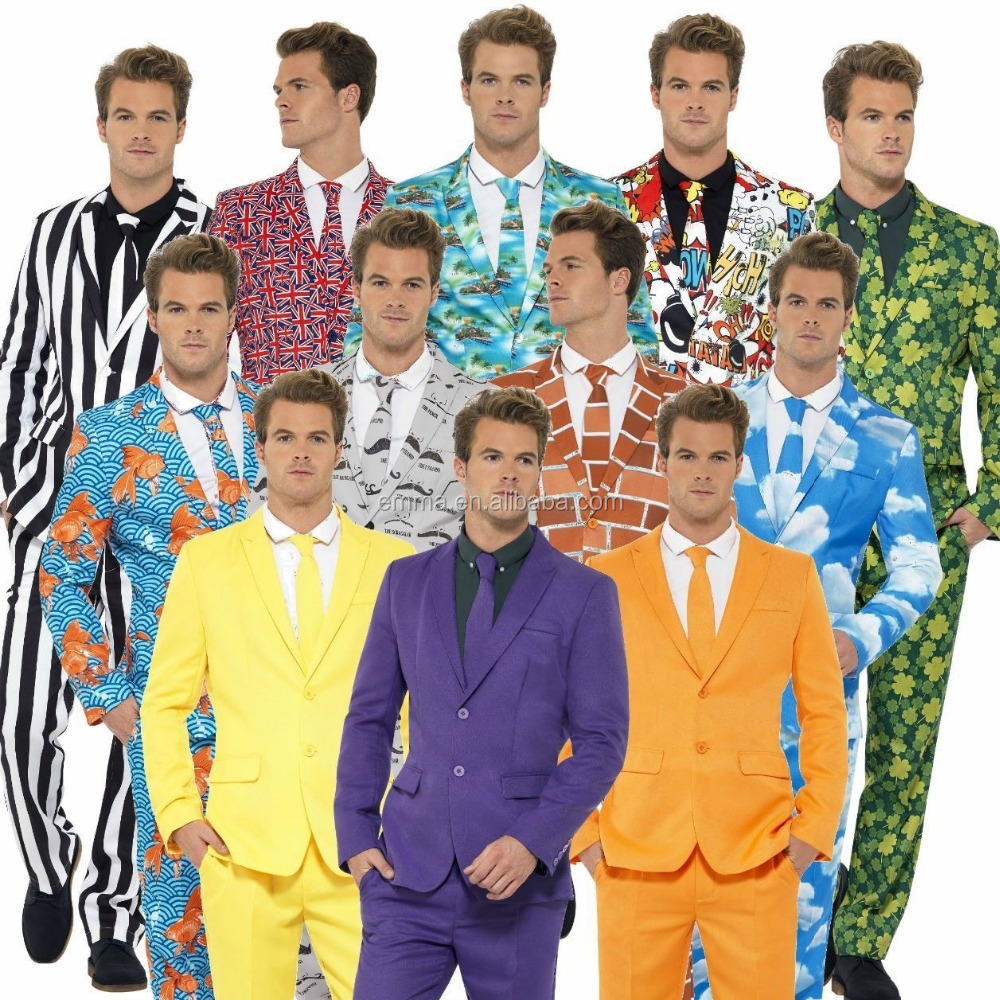 Stand Out Suits Stag Do Party New Comedy Funny Fancy Dress Costume Outfit Mens