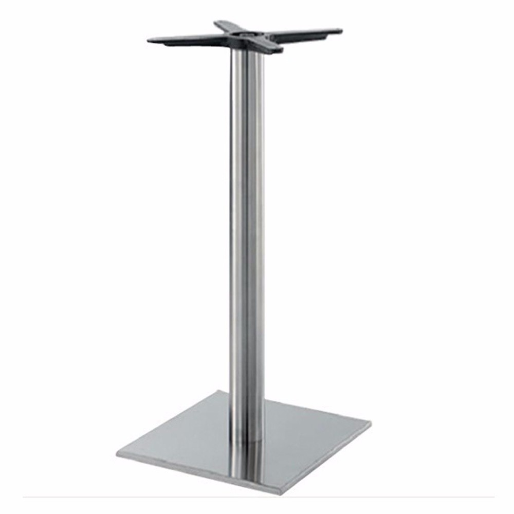 Buy Black Marble Square Coffee Table Gun Metal Base At: Aluminum Metal Height Adjustable Dining Table Leg For