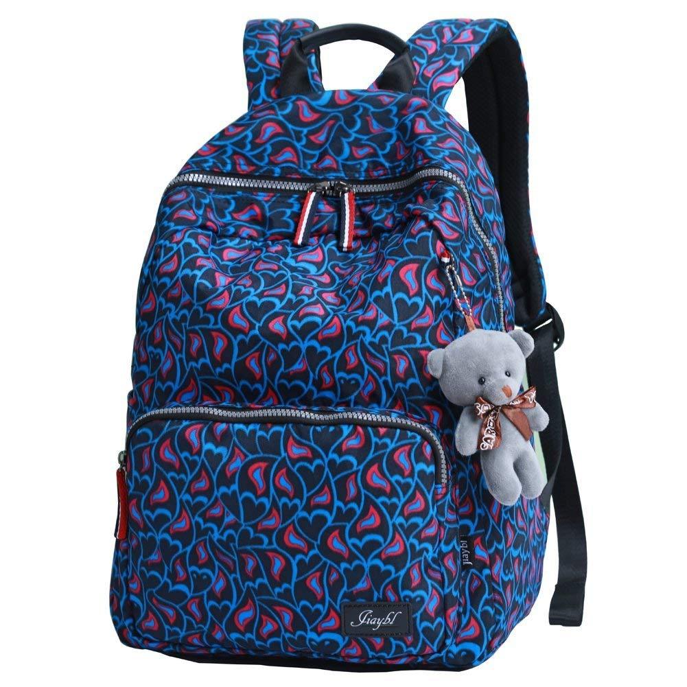 Get Quotations · Mocha weir JIAYBL Ladies Backpack Laptop Backpack College  Shoulders Bags Children School Book Bags Girls Travel 21cd411fe5