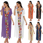 2019 New Cotton Long Beach dress Moroccan Kaftan Wholesale