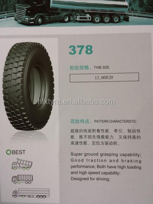 Alibaba China Annaite Truck Tire 12.00r20 389 Pattern 8.25r16 ...