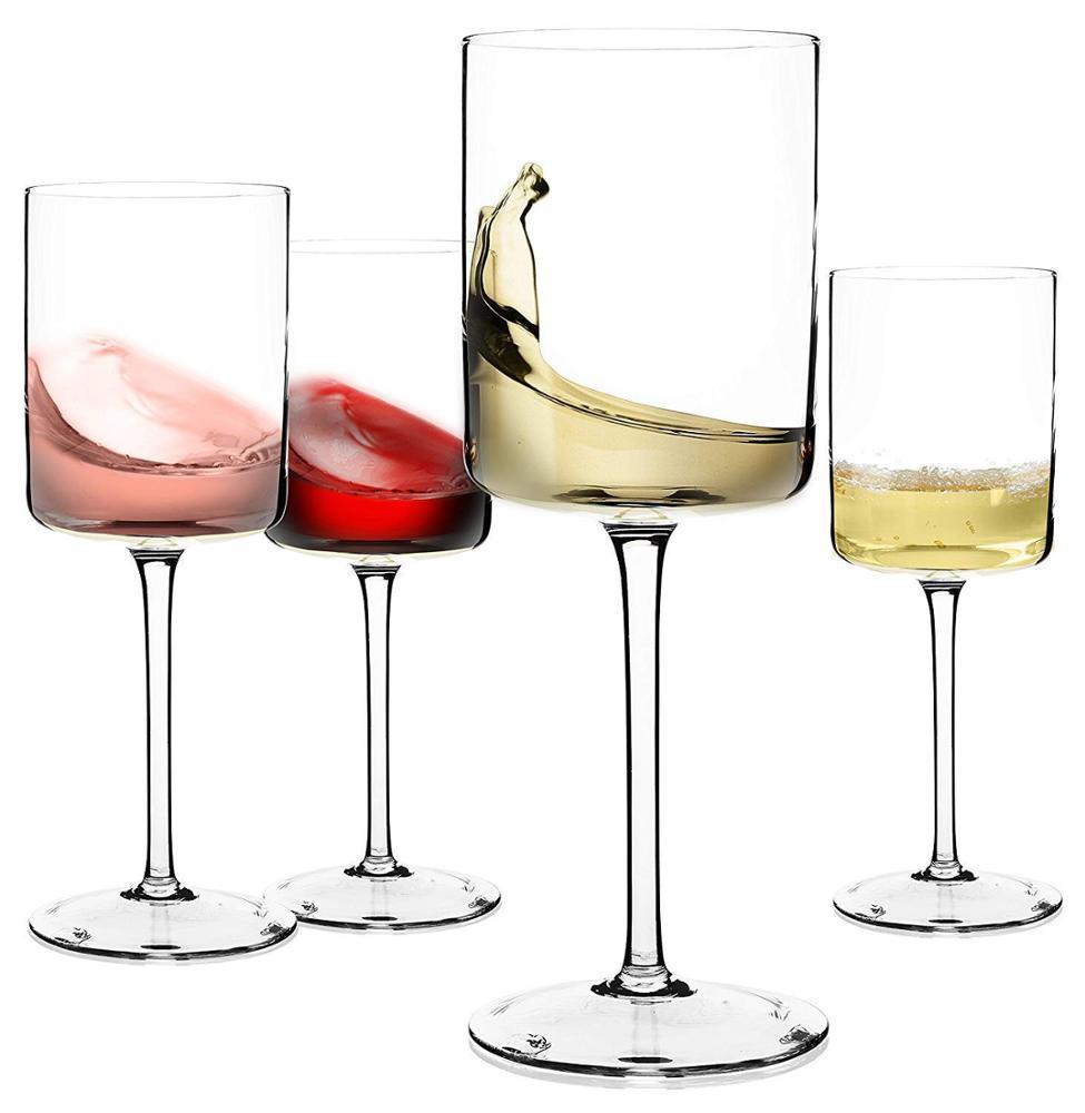 2019 Su Misura trasparente graceful speciale orlato bicchiere di vino rosso