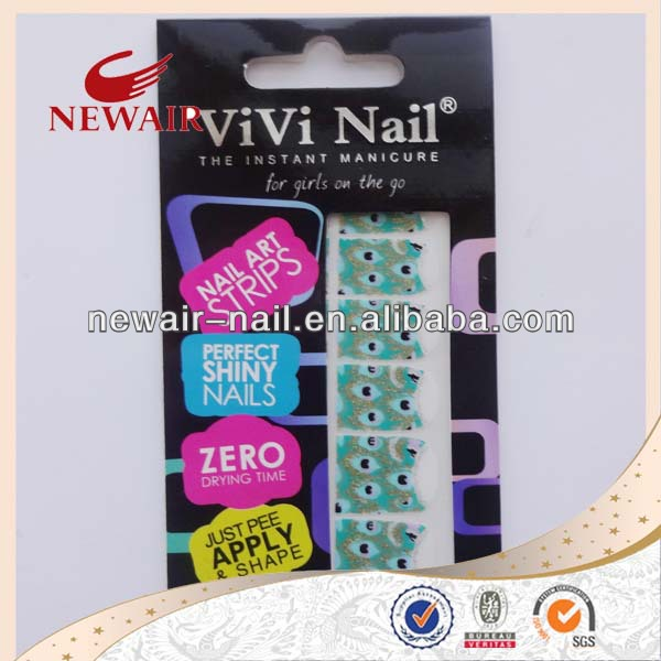 Vivi Nail Art Decal Sticker Patch Nail Polish Patch Nail Polish Strip