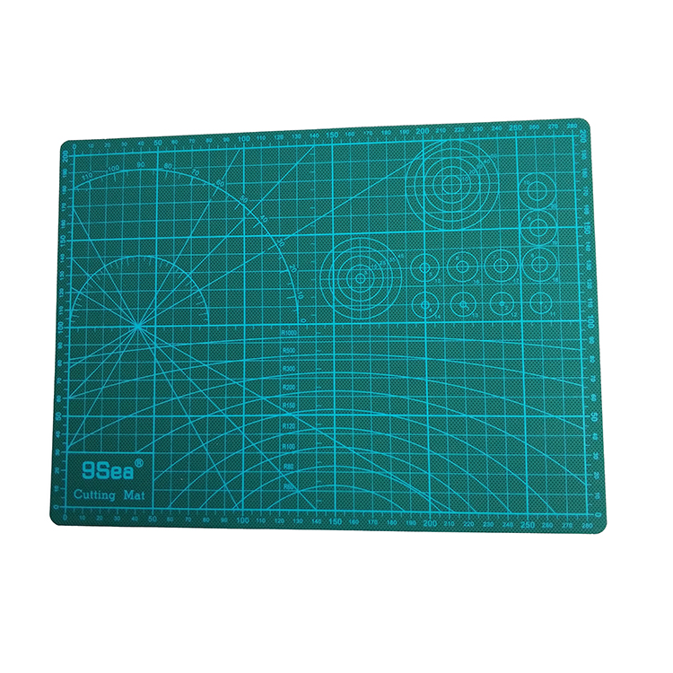 Double Sided Scale Design PVC 3mm Thickness Sewing Self Healing Cutting Mat