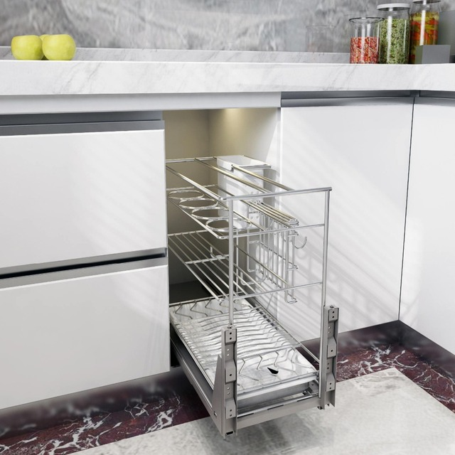 Kitchen Pull Out Soft Close Cabinet Hardware