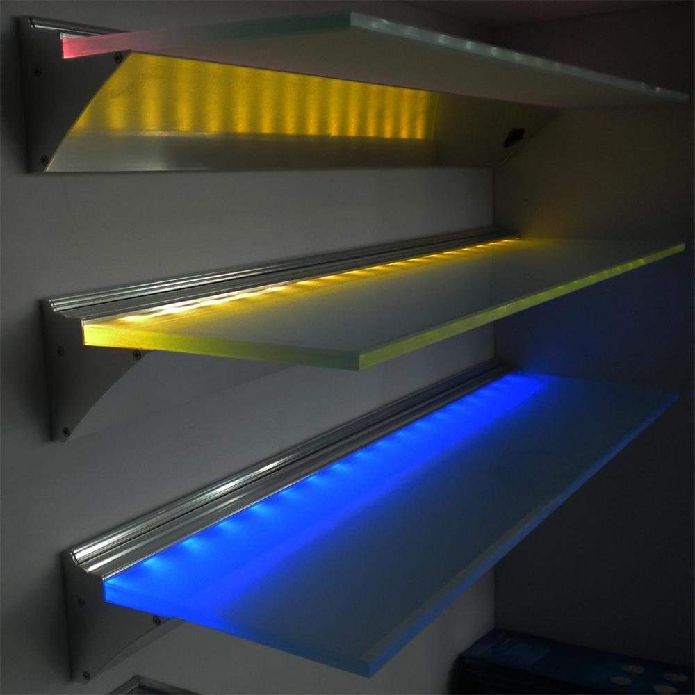 Edge Lighting Glass Panels