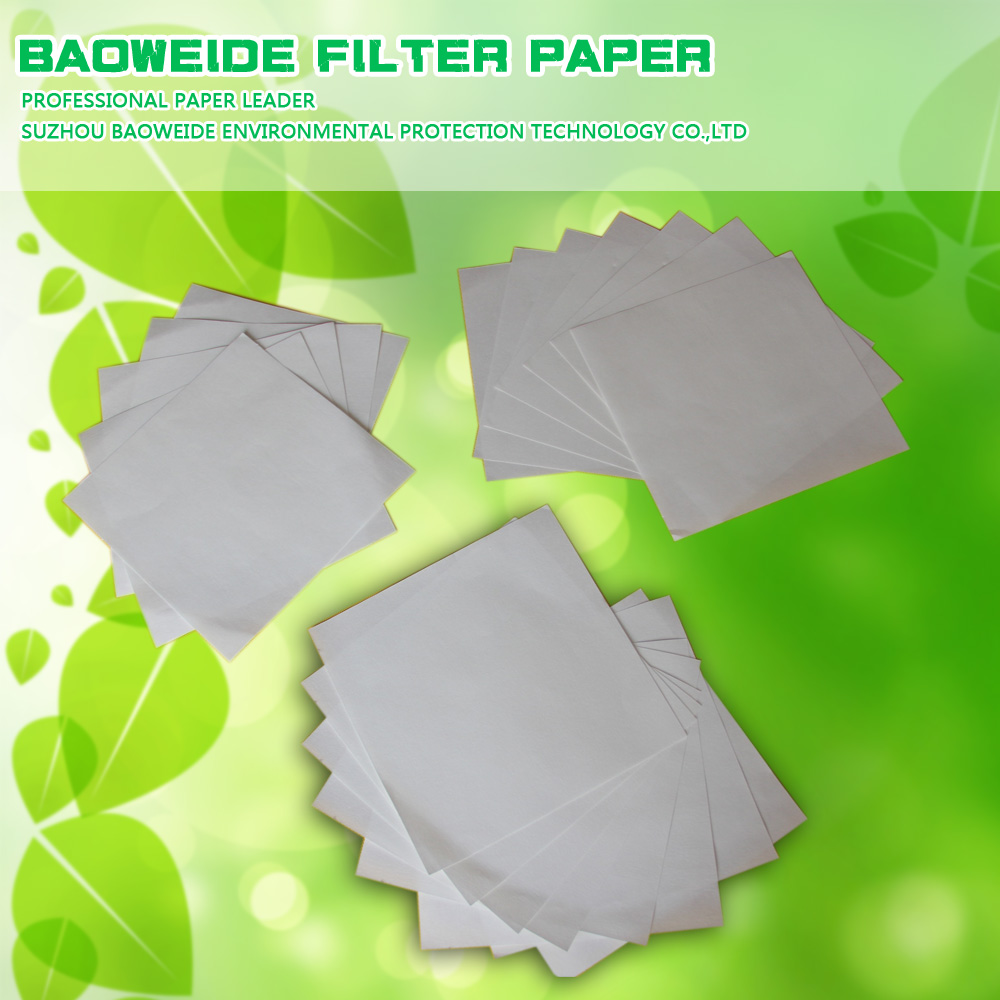 80cm*80cm qualitative filter paper with medium speed from Suzhou Baoweide
