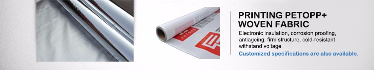 Silver plastic film for laminating epe foam and bubble film