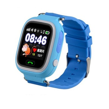 f3079f463d7 Child GPS Smart Watch Q90 With Wifi Touch Screen Children Smartwatch SOS  Call Location For Kid