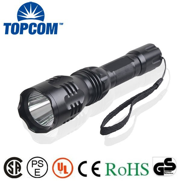 TP-1836 Long Range Rechargeable 3W Aluminum LED torch