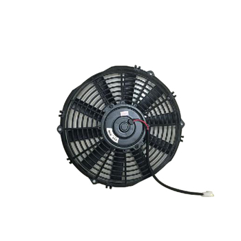Low price standard engine electronic heat sink car fan for hino