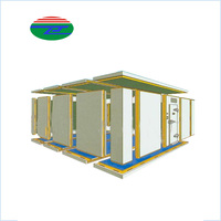The Newest Top Level big size storage cold room for fresh vegetables and fruit