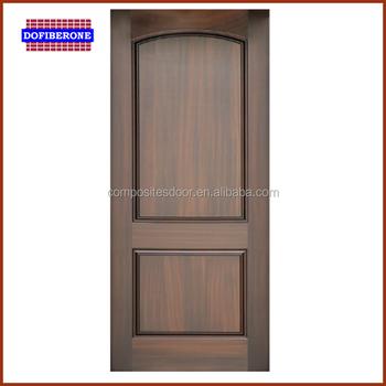Premium Fiber Glass Door Wood Grain Texture Smc Door Pvc Bathroom