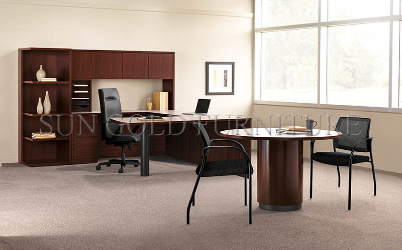 Modern Latest Office Furniture, Private Office Desk, Credenza Shell  (SZ OD006)