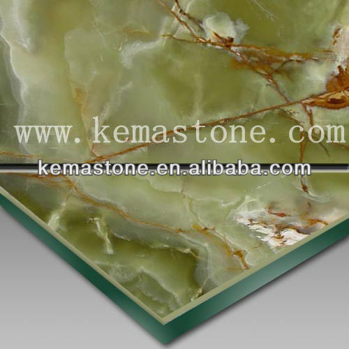 Euphotic Onyx Marble Cheap Composite Decking Tiles