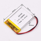 Customized rechargeable lithium polymer battery 3.7v 1200mah battery 603450