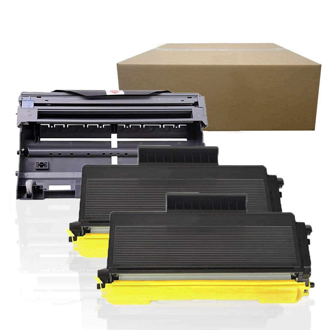 4PACK TN580 Toner 2 PACK DR520 Drum For Brother HL-5240 5250 5270DN 5280D