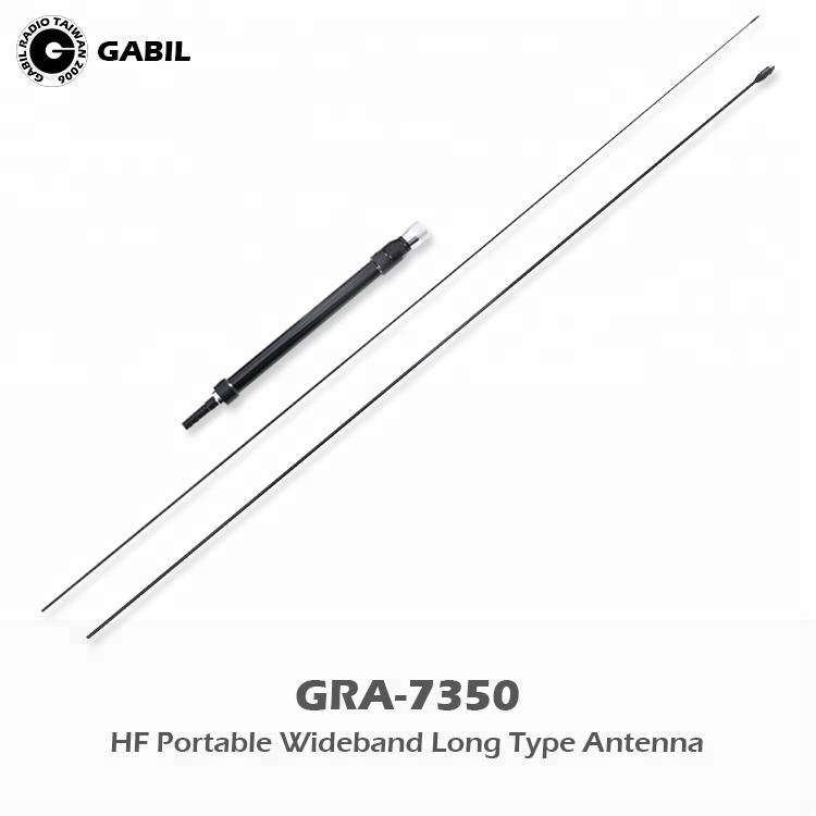 Long Distance Range Wideband 7-30MHz 50MHz Portable HF Vertical <strong>Antenna</strong> for CB Radio Transceiver